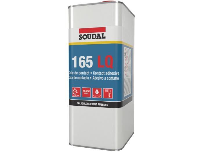 SOUDAL Colle néoprène 165 liquide bidon 5l - SOUDAL - 145989