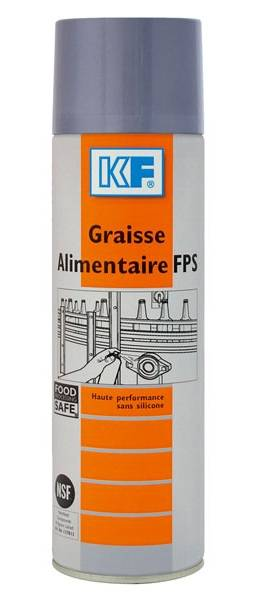 KF Graisse alimentaire FPS aérosol 650 ml brut / 500 ml net - KF - 9560