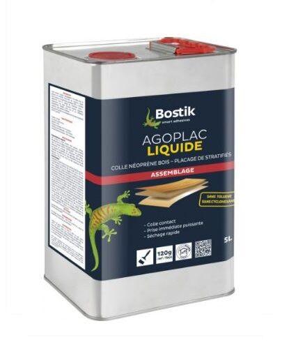 BOSTIK Colle néoprène Agoplac liquide 5L - BOSTIK - 30604660