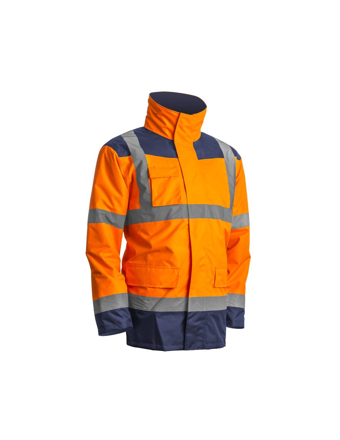 Parka 4 en 1 Coverguard Kanata HI-VIZ jaune ou orange fluo - EUROPROTECTION