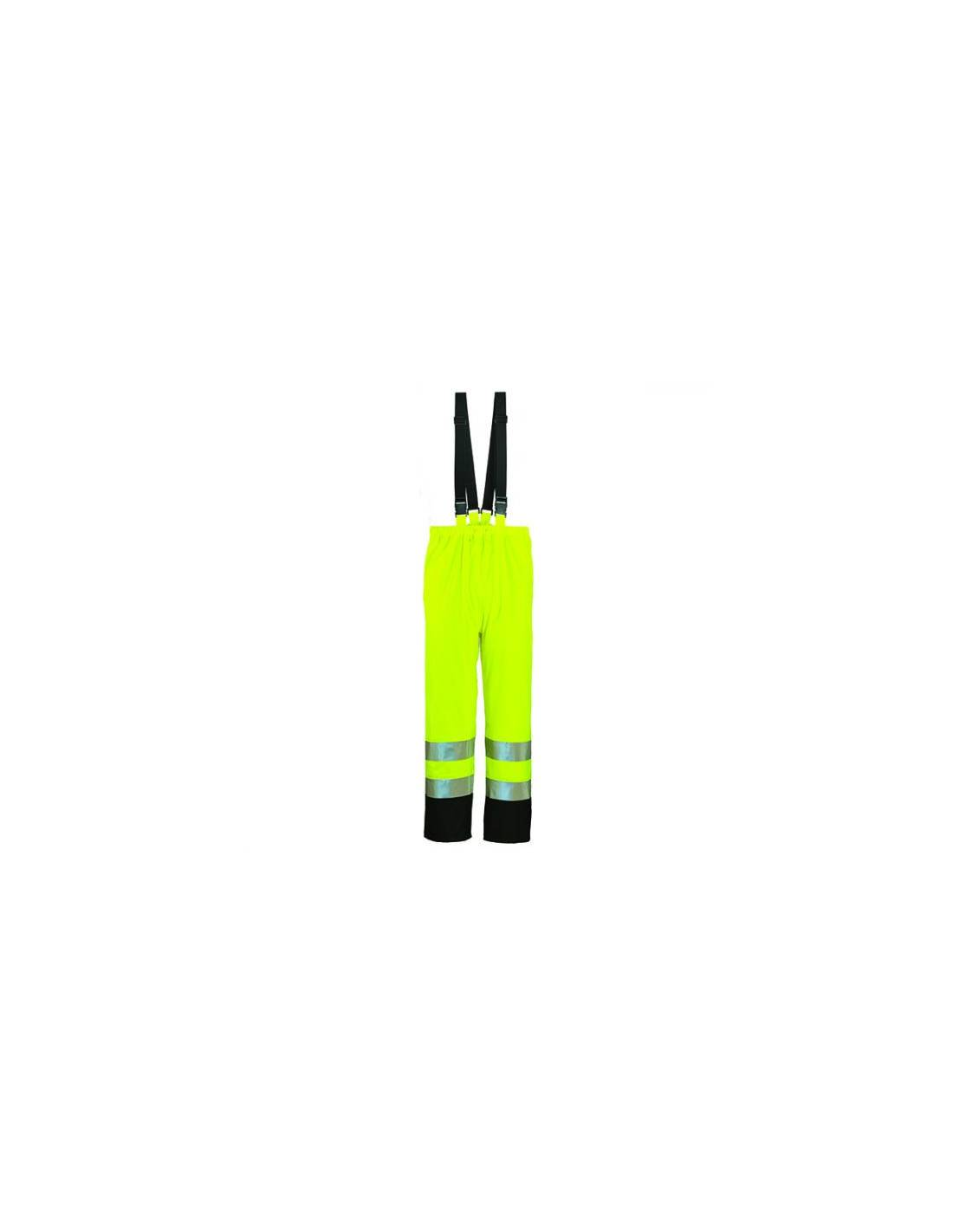 Pantalon HARBOR PU HI-VIZ jaune ou orange fluo 3M - EUROPROTECTION