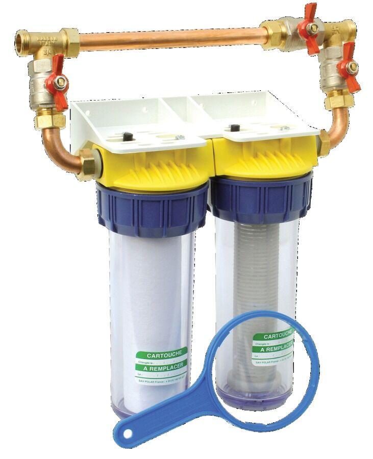 POLAR Double filtre 20/27 anti-calcaire - POLAR - FD34CBP