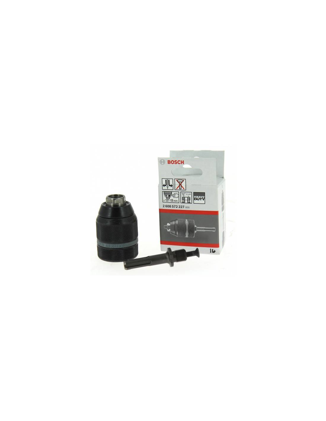 BOSCH - Mandrin à queue SDS+ automatique (1.5 - 13 mm) - 2608572227