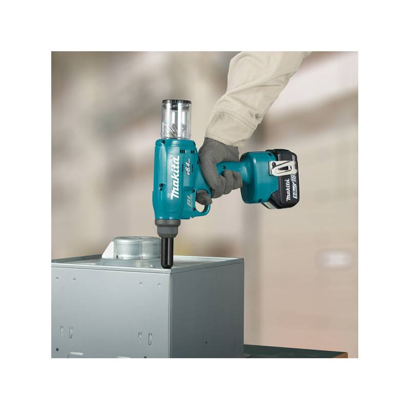 MAKITA Riveteuse 18V (Machine seule) 4.8/6.4 mm maxi - MAKITA - DRV250ZJ