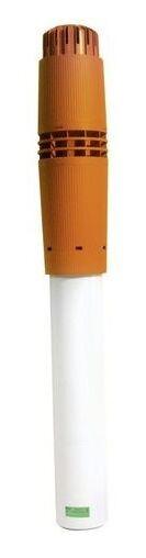 UBBINK Terminal ventouse vertical 60 / 100 condensation ocre - UBBINK - 184251