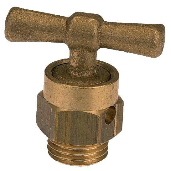 GARIS SANITAIRE Tête de robinet de purge 1/4 Simple - DUMONT - D24002B