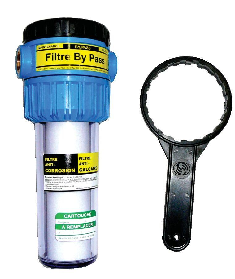 POLAR Filtre anti calcaire corrosion compact 2 en 1 - POLAR - FABP34C