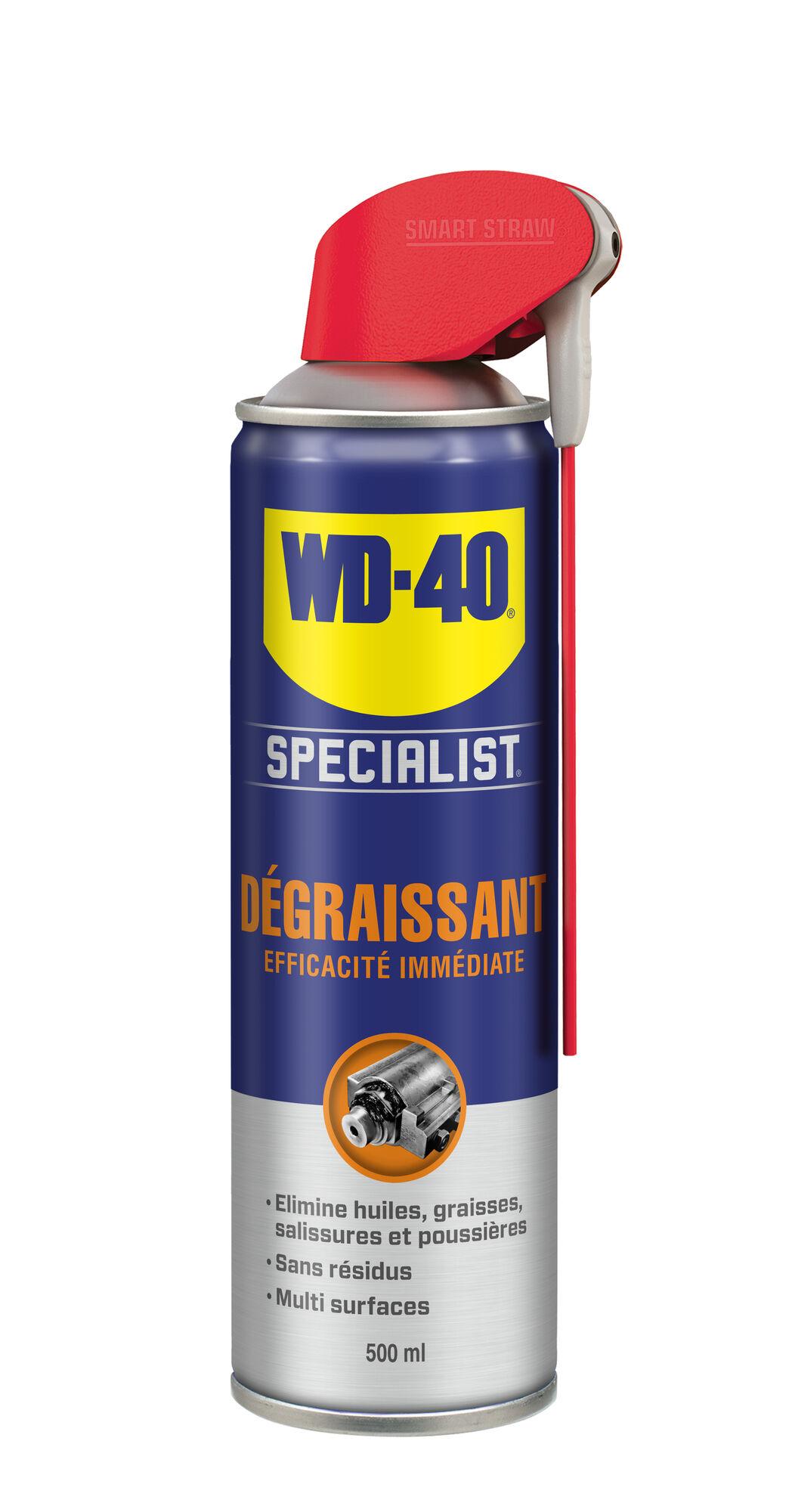 WD-40 SPECIALIST Dégraissant efficacité immédiate 500 ml - WD-40 SPECIALIST - 33393
