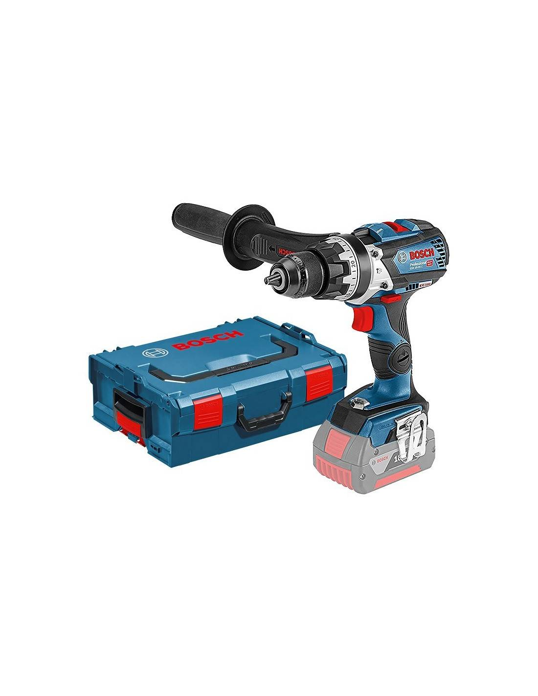 BOSCH - Perceuse visseuse à percussion GSB 18V-85 C version solo (machine seule) en coffret L-BOXX - 06019G0302