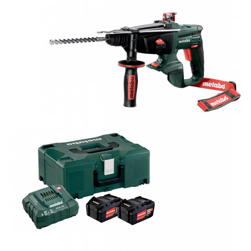 METABO Perforateur burineur SDS+ 18V KHA 18 LTX METABO en coffret METALOC
