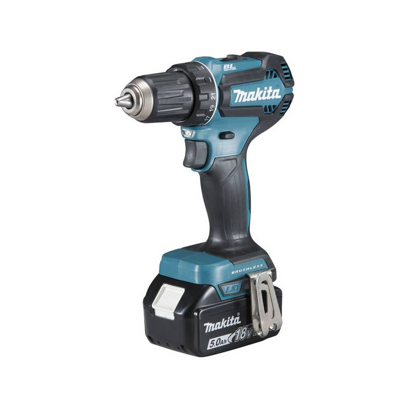 MAKITA Perceuse visseuse 18V (2X5Ah) - MAKITA - DDF485RTJ