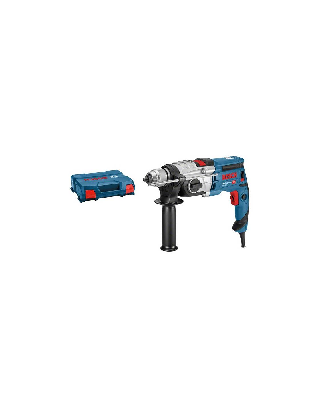 Perceuse à percussion GSB 20-2 850W en coffret L-CASE - BOSCH - 060117B400