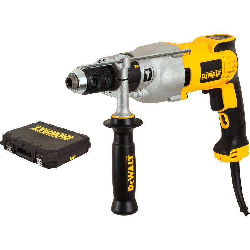 DEWALT Perceuse percussion 1100W mandrin 13mm en coffret standard - DEWALT - DWD524KS