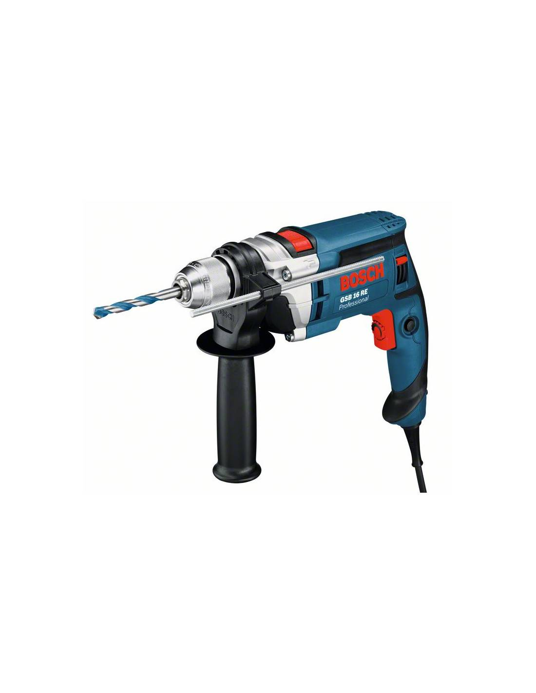 Perceuse à percussion 750W GSB 16 RE - BOSCH - 060114E500