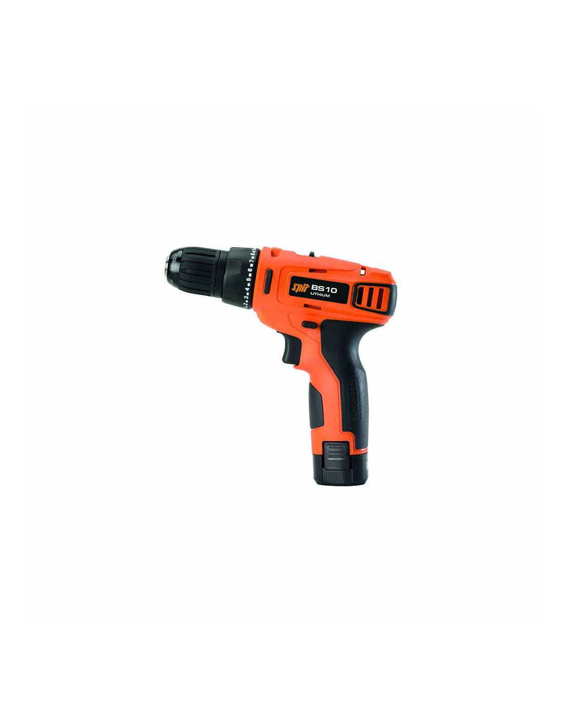 Perceuse visseuse BS 10 10,8V SPIT + 2 batteries 1.5Ah Lithium + chargeur - SPIT - 054361