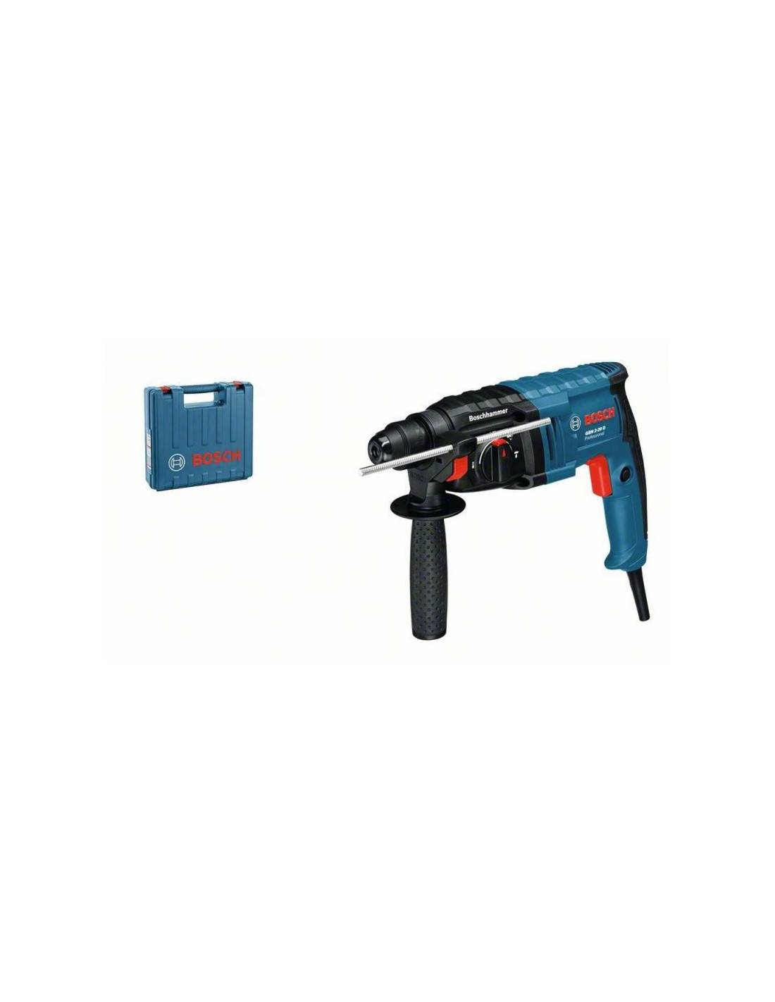 Perforateur burineur 650W SDS+ GBH 2-20 D en coffret standard - BOSCH - 061125A400