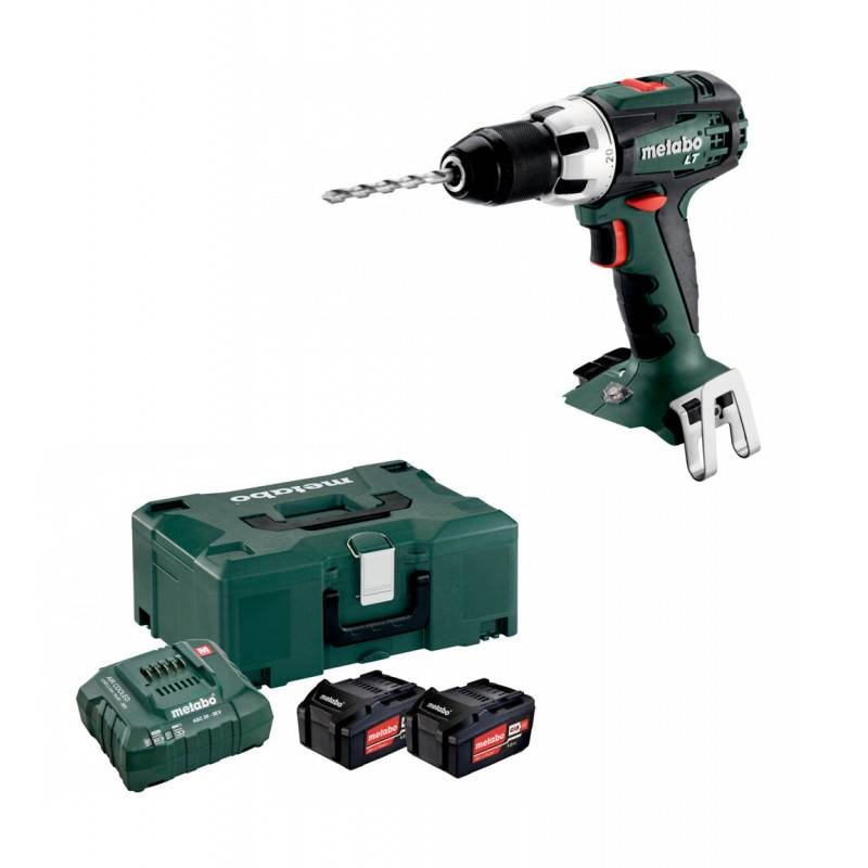 METABO Perceuse visseuse 18V BS 18 LTX IMPULS METABO en coffret METALOC