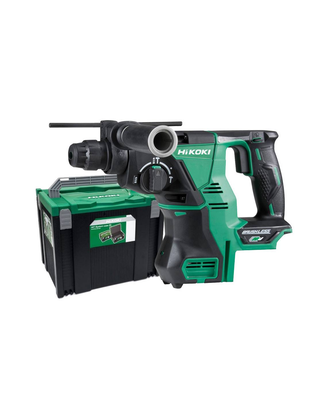 Perforateur SDS+ et SDS-MAX Multi Volt (machine seule) en coffret HITCASE - HIKOKI - DH36DPAW2Z