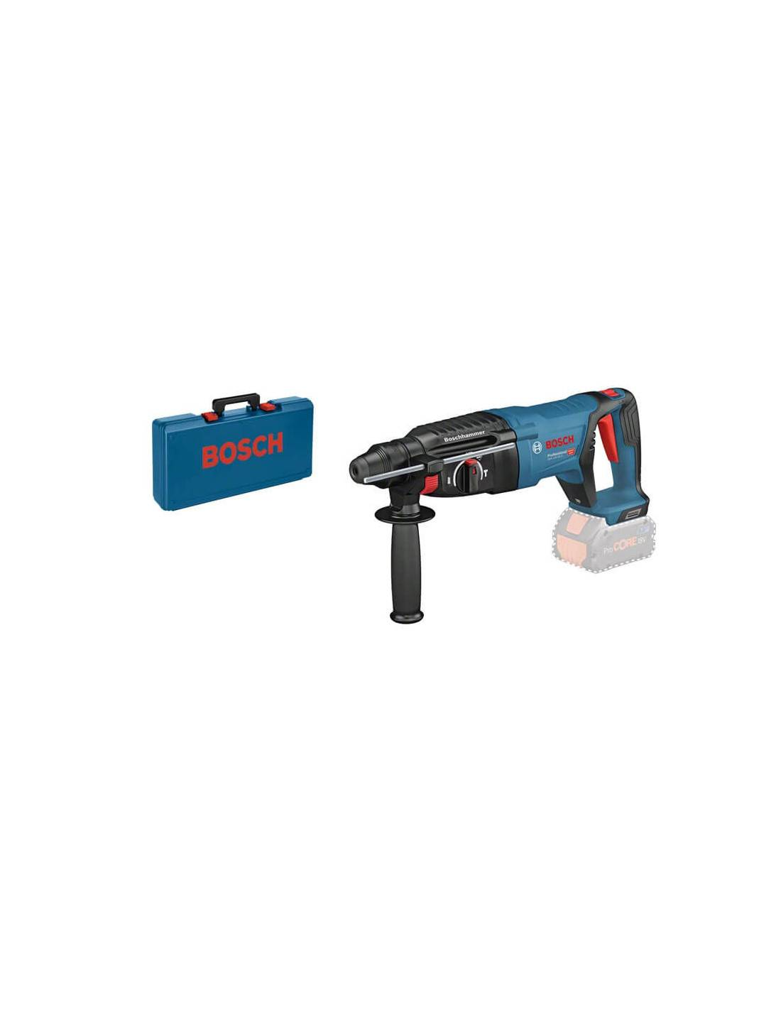 Perforateur SDS+ GBH 18V-26 D solo (machine seule) en coffret standard - BOSCH - 0611916000