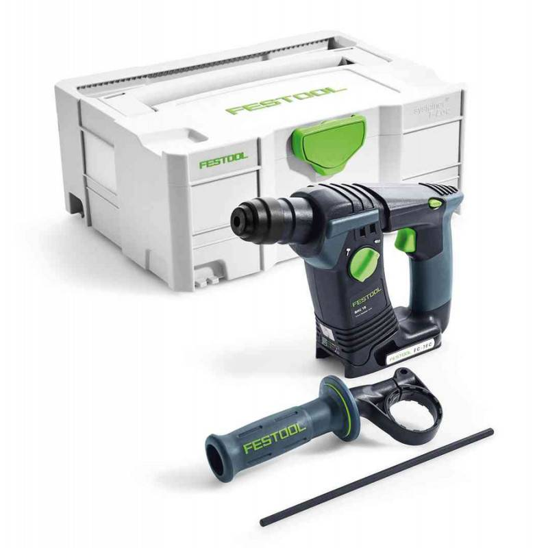 FESTOOL Perforateur sans fil BHC 18-LI Basic (machine seule) en coffret SYSTAINER - FESTOOL - 574723