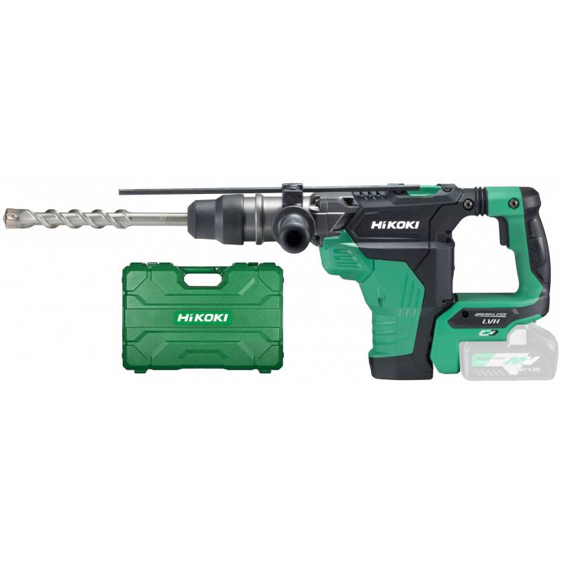 HIKOKI Perforateur-burineur SDS-Max MULTIVOLT 36-18 V (machine seule) en coffret HITCASE - HIKOKI - DH36DMAW2Z