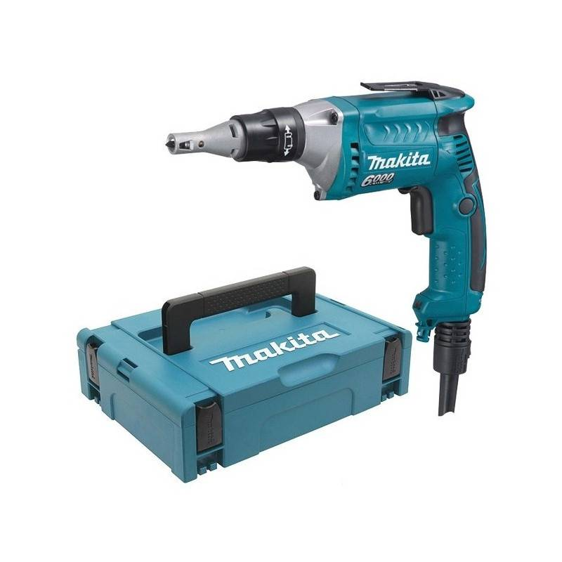 MAKITA Visseuse plaquiste 570W en coffret MAKPAC - MAKITA - FS6300RXJ