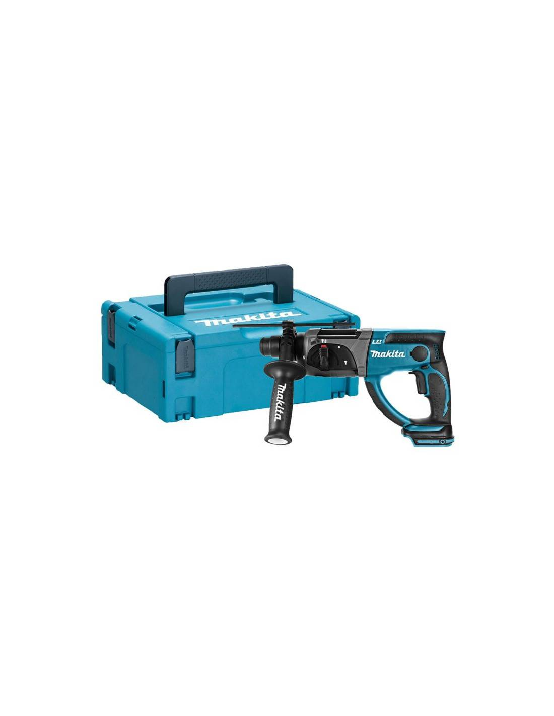 Perfo-burineur SDS+ 18V (machine seule) en coffret MAKPAC - MAKITA - DHR202ZJ