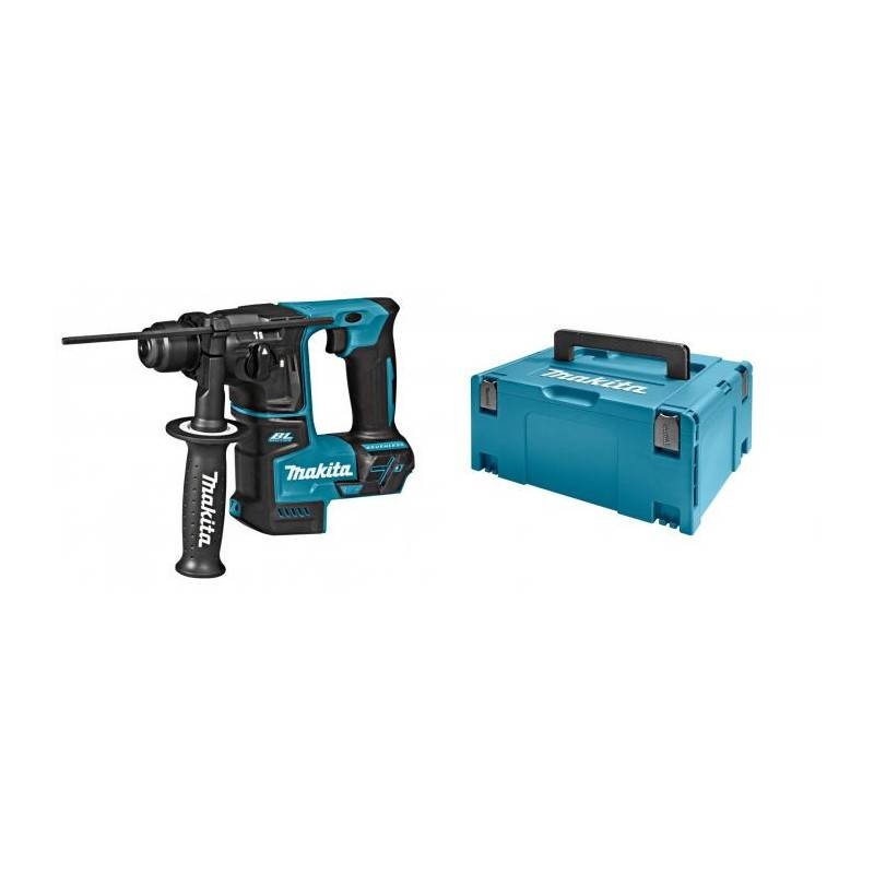 MAKITA Perforateur SDS+ 18V (machine seule) en coffret MAKPAC - MAKITA - DHR171ZJ