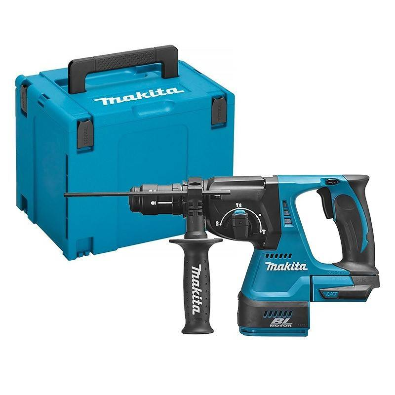 MAKITA Perfo-burineur SDS+ 36V (2x18V) 26 mm (machine seule) en coffret MAKPAC - MAKITA - DHR264ZJ
