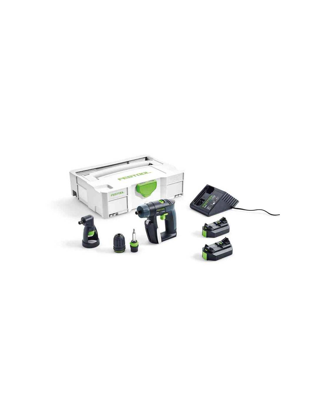Perceuse visseuse sans fil FESTOOL CXS Li 2,6-Set 564532