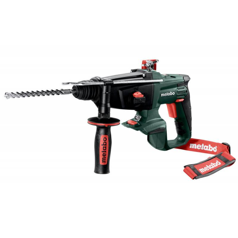METABO Perforateur burineur SDS+ 18V KHA 18 LTX (machine seule) en coffret METALOC - METABO - 600210840