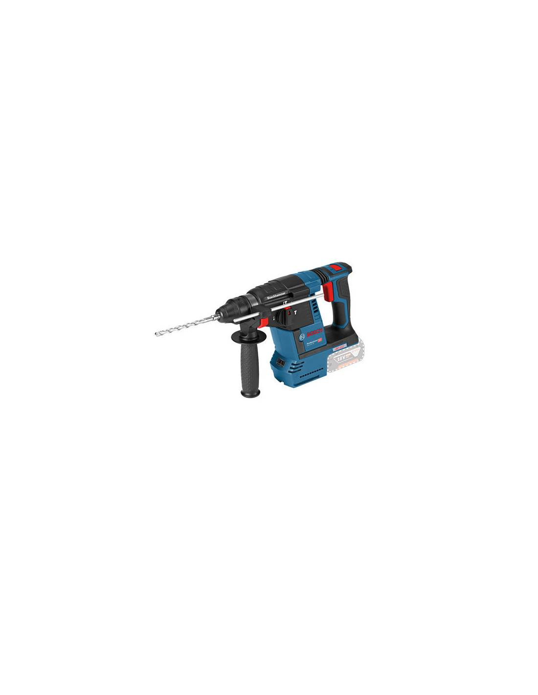 Perforateur sans fil GBH 18V-26 version solo (machine seule) en coffret L-BOXX - BOSCH - 0611909001