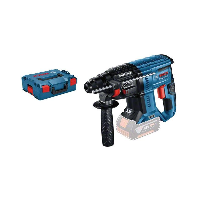 BOSCH Perforateur sans-fil SDS plus GBH 18V-21 (machine seule) en coffret L-BOXX - BOSCH - 0611911101