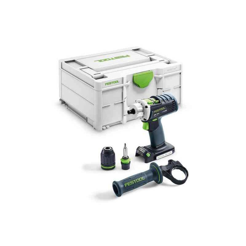 FESTOOL Perceuse-visseuse sans-fil QUADRIVE DRC 18/4-Basic (Machine complète) en coffret SYSTAINER - FESTOOL - 576458