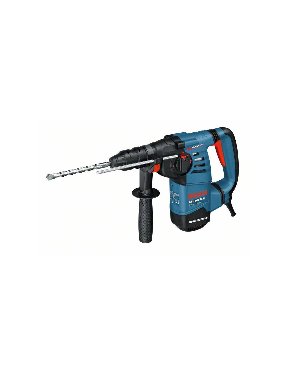 BOSCH - Perforateur burineur 800W SDS+ GBH 3-28 DFR en coffret L-BOXX - 061124A004