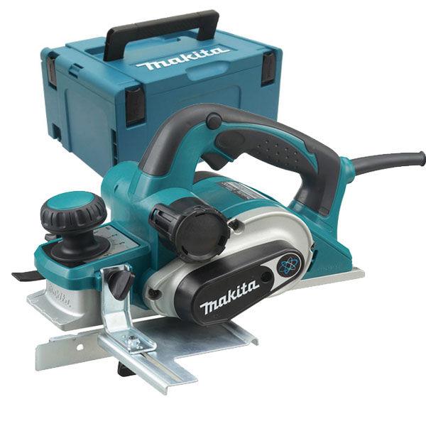 MAKITA Rabot électrique 82 mm 1050W en coffret MAKPAC - MAKITA - KP0810CJ