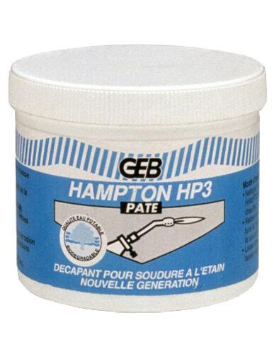 GEB Décapant pâte pour soudure à l'étain 75 ml HAMPTON H3 - GEB - 100302