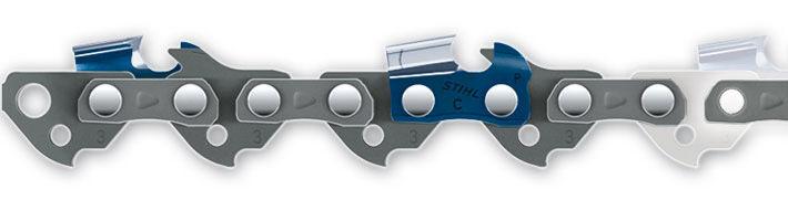 STIHL Chaîne pour tronçonneuse 'Picco Micro 3' - 30 cm - 3/8'' P - 1,3 mm - 44 maillons - STIHL - 3636-000-0044