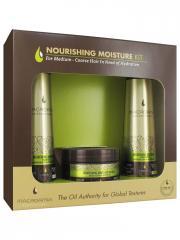 Macadamia Nourishing Moisture Kit Cheveux Normaux à Secs - Coffret 3 soins