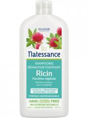 Natessance Shampoing Réparateur Fortifiant Ricin 500 ml - Flacon 500 ml