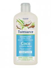 Natessance Shampoing Coco et Kératine Végétale 250 ml - Flacon 250 ml
