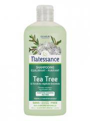 Natessance Shampooing Équilibrant Purifiant Tea Tree 250 ml - Flacon 250 ml