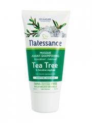 Natessance Masque Avant-Shampooing Tea Tree & Kératine Végétale 150 ml - Tube-applicateur 150 ml