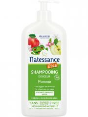 Natessance Kids Shampooing Douceur Pomme Bio 500 ml - Flacon-Pompe 500 ml