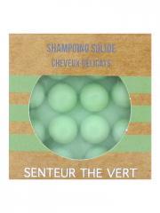 Valdispharm Shampoing Solide Cheveux Délicats Senteur Thé Vert 55 g - Pain 55 g