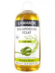 Gamarde Shampooing Eclat Aloe Vera Cheveux Ternes Bio 500 ml - Flacon 500 ml