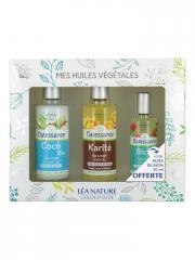 Natessance Coffret Mes Huiles Végétales - Coffret 3 huiles