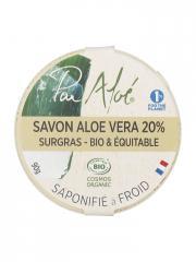 Pur Aloé Savon Aloé Vera 20% Surgras Bio 90 g - Boîte 90 g