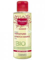 Mustela Maternité Huile Vergetures Sans Parfum Bio 105 ml - Flacon 105 ml