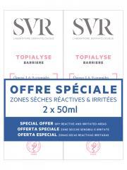 SVR Topialyse Crème Barrière Lot de 2 x 50 ml - Lot 2 x 50 ml